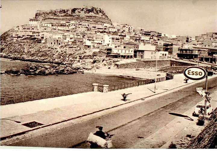 Photo ancient Castelsardo Sassari Sardinia